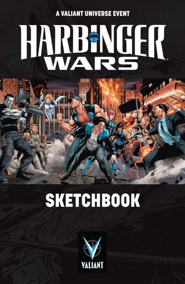 Harbinger Wars: Sketchbook