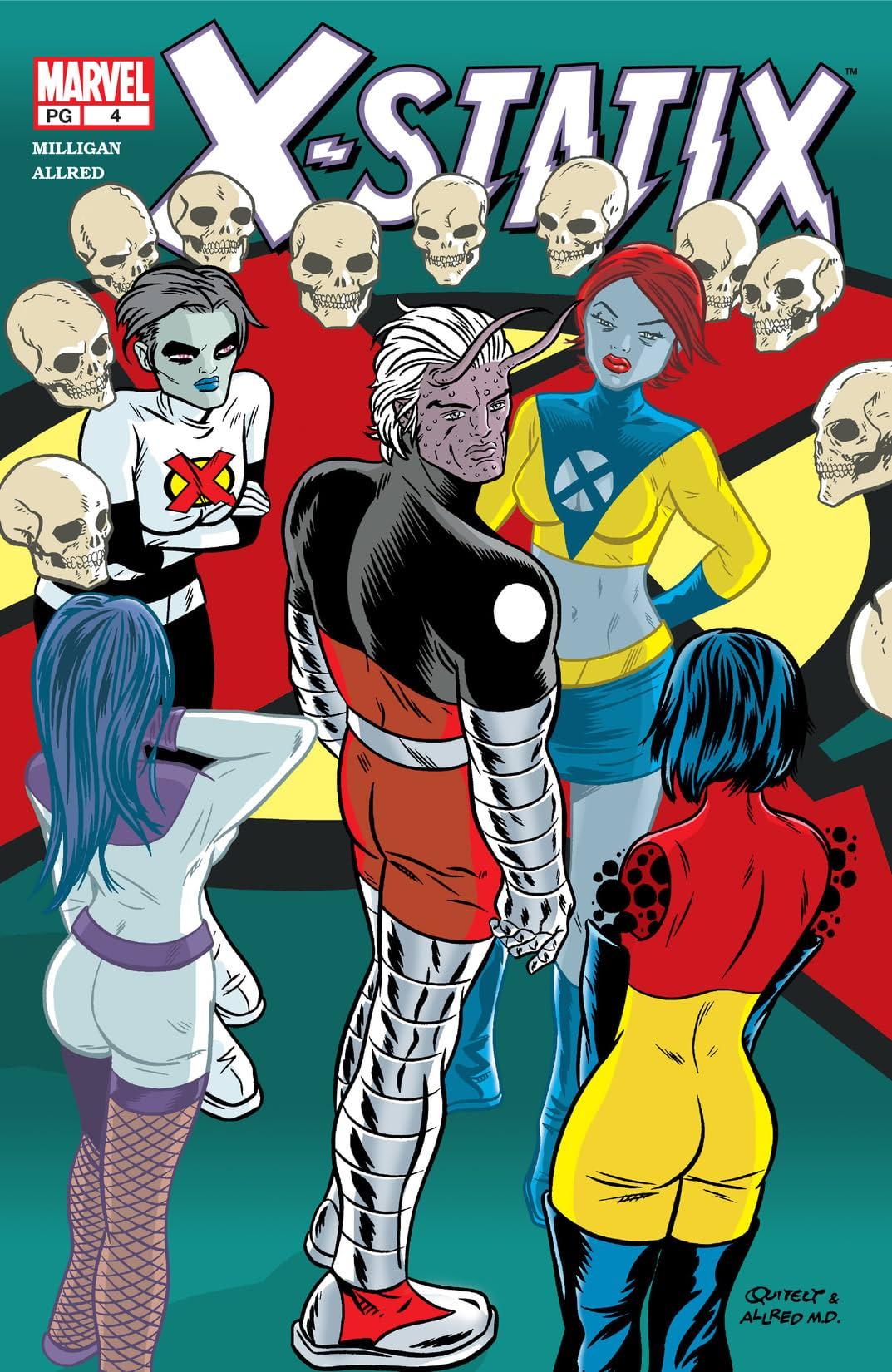 X-Statix (2002-2004) #4