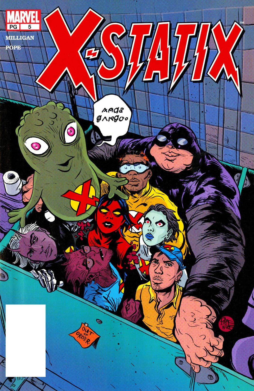 X-Statix (2002-2004) No.5
