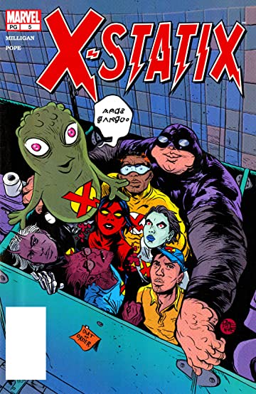X-Statix (2002-2004) #5