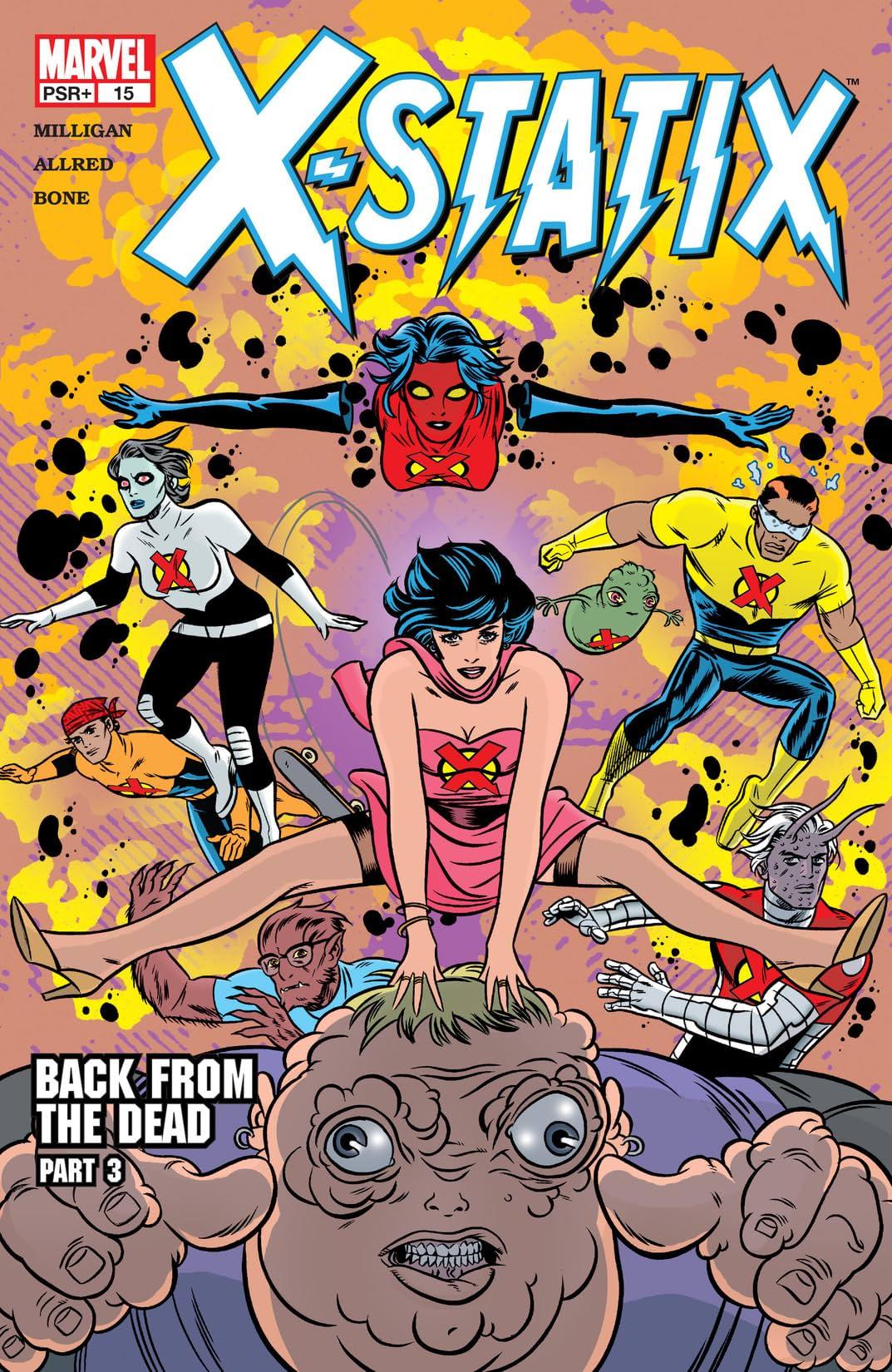 X-Statix (2002-2004) #15