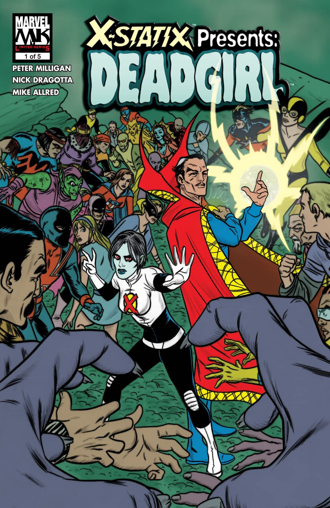 X-Statix Presents: Dead Girl (2006) #1 (of 5)