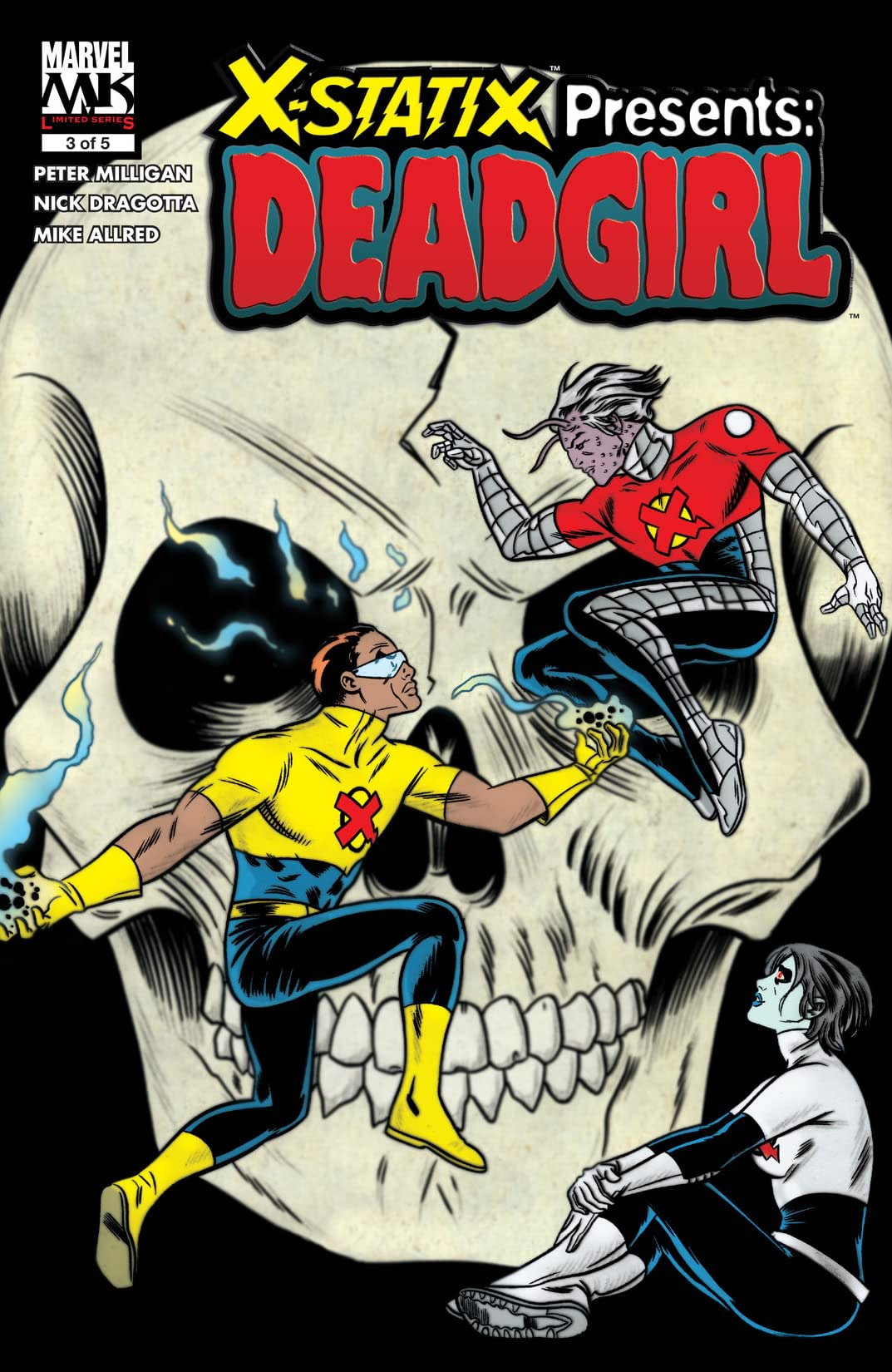 X-Statix Presents: Dead Girl (2006) #3 (of 5)