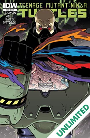 Teenage Mutant Ninja Turtles #20