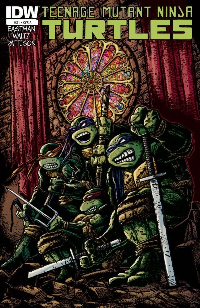 Teenage Mutant Ninja Turtles #21