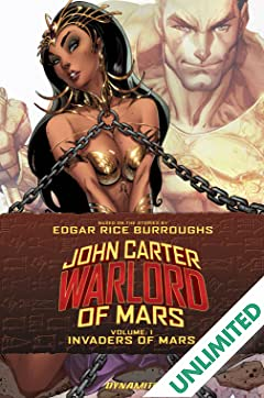 John Carter: Warlord of Mars Vol. 1: Invaders