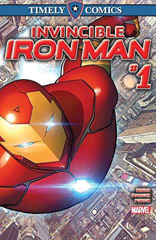 Timely Comics: Invincible Iron Man No.1