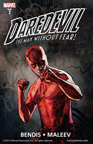 Daredevil by Bendis and Maleev Ultimate Collection COMIC_VOLUME_ABBREVIATION 2