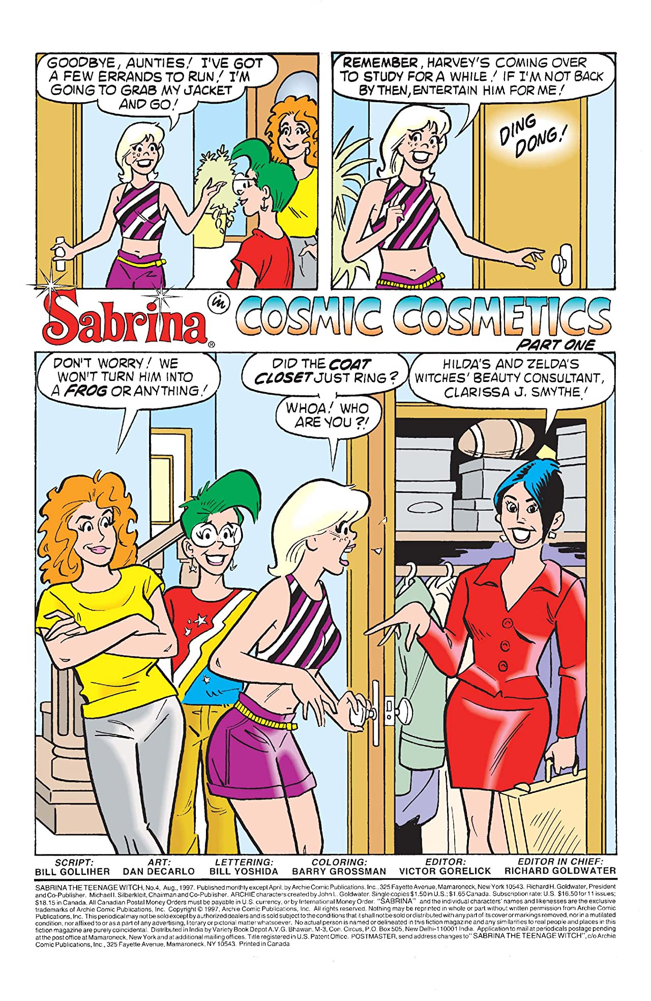 Sabrina the Teenage Witch #4