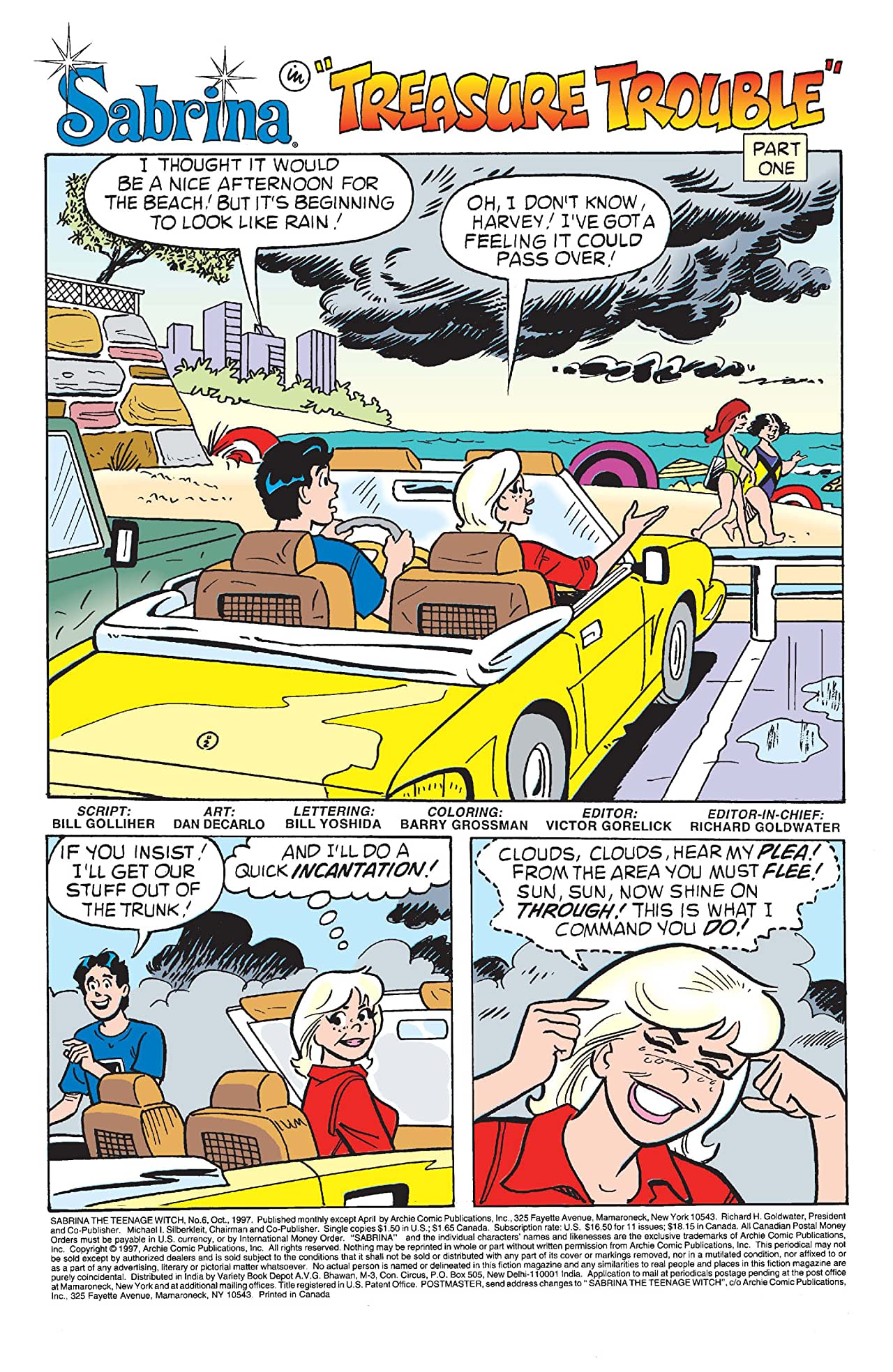 Sabrina the Teenage Witch #6