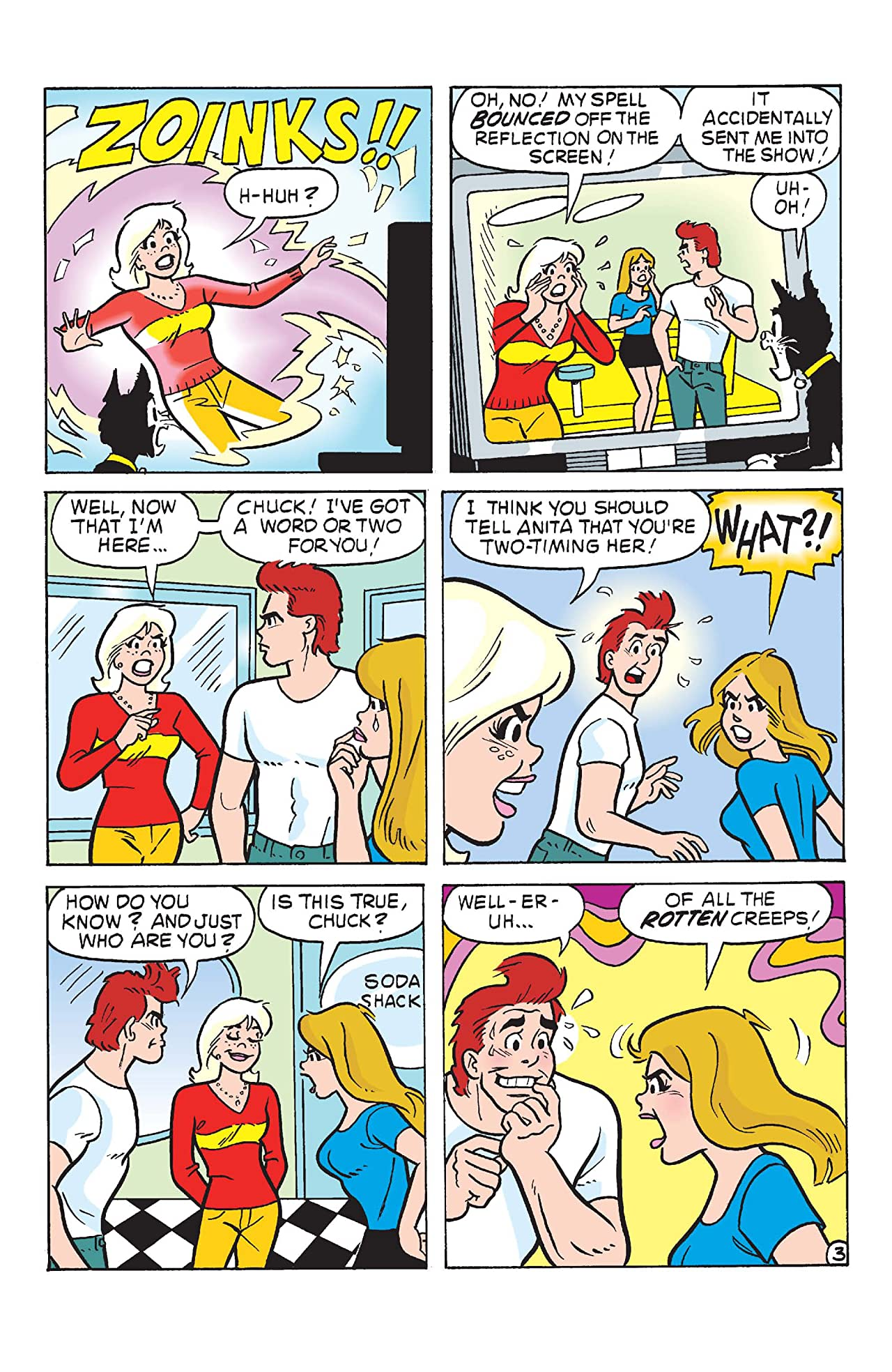 Sabrina the Teenage Witch #8