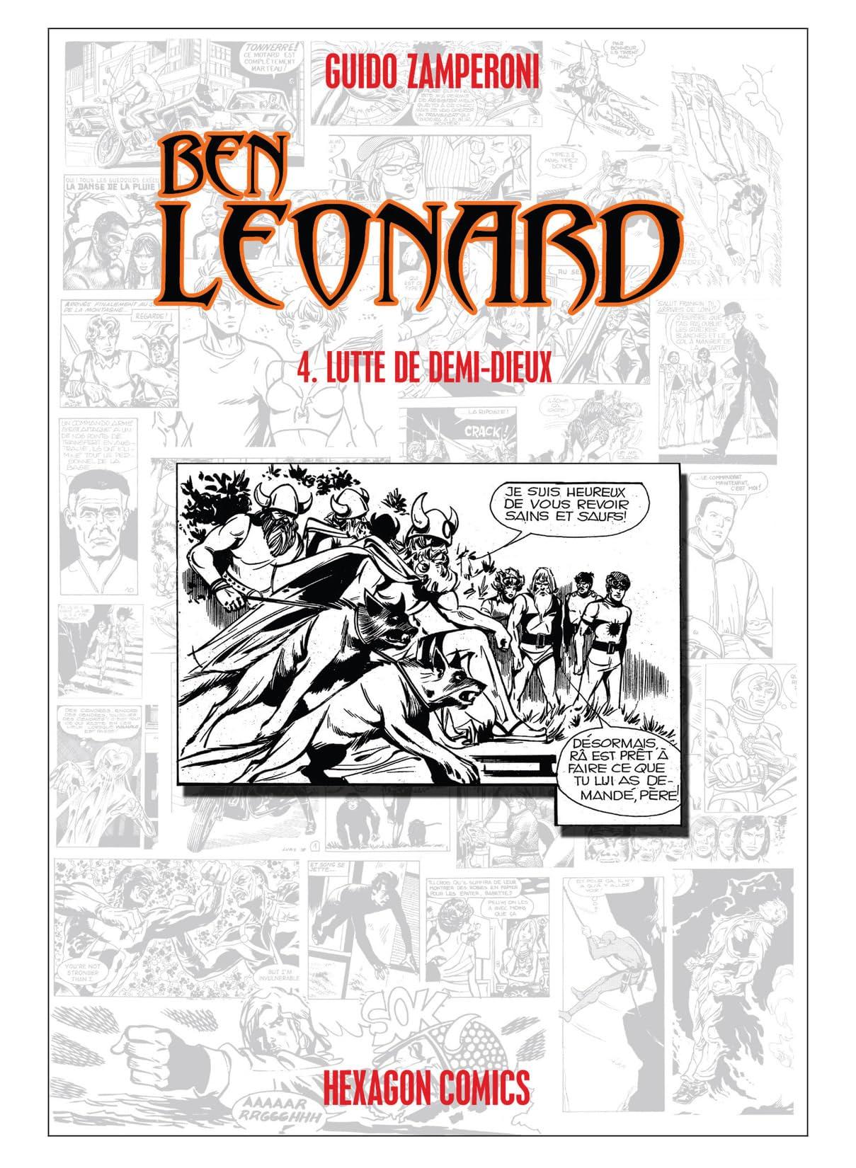 BEN LEONARD Vol. 4: Lutte de Demi-Dieux