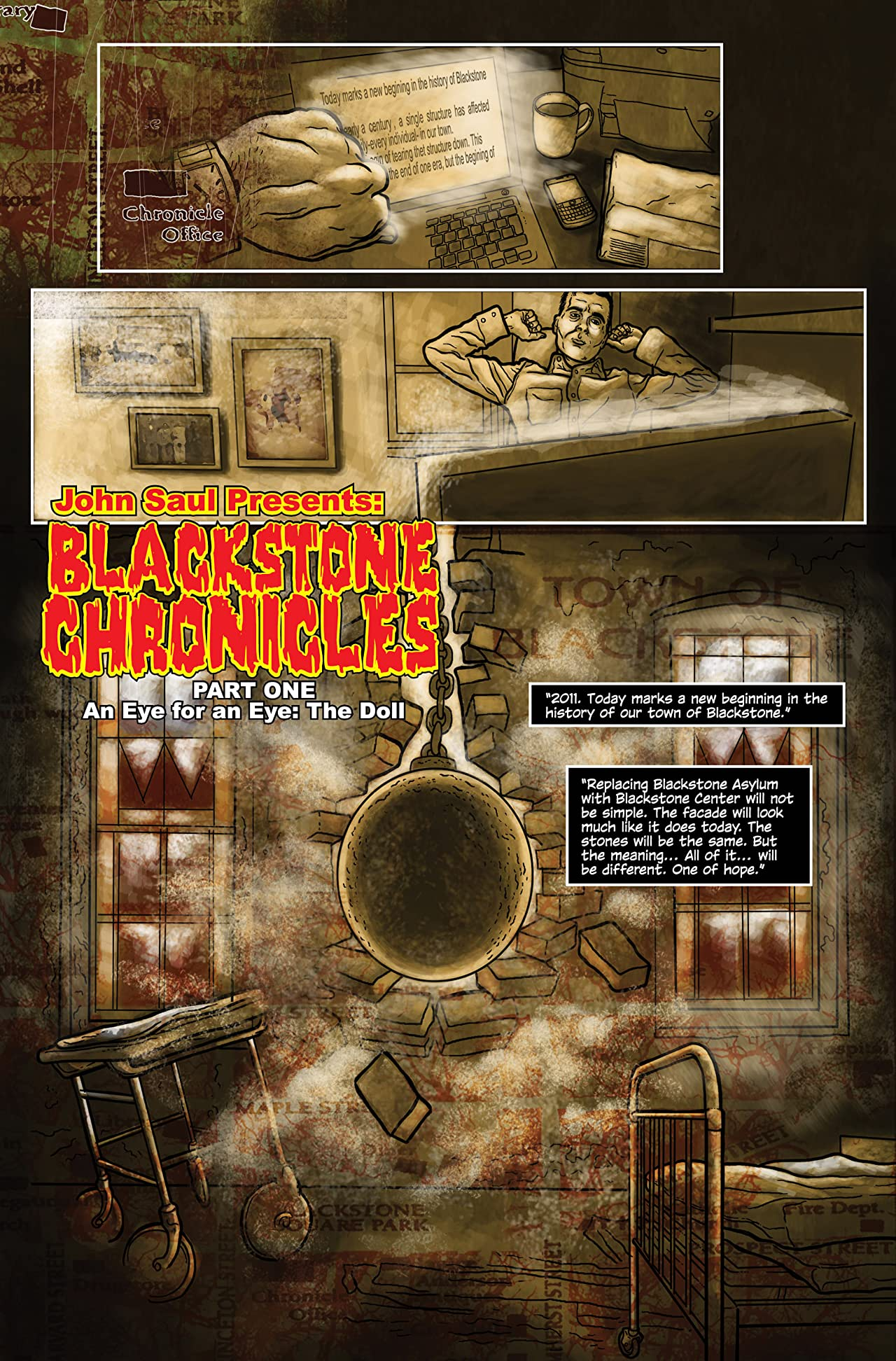 John Saul Presents The Blackstone Chronicles #0