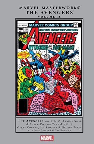 Avengers Masterworks Tome 16