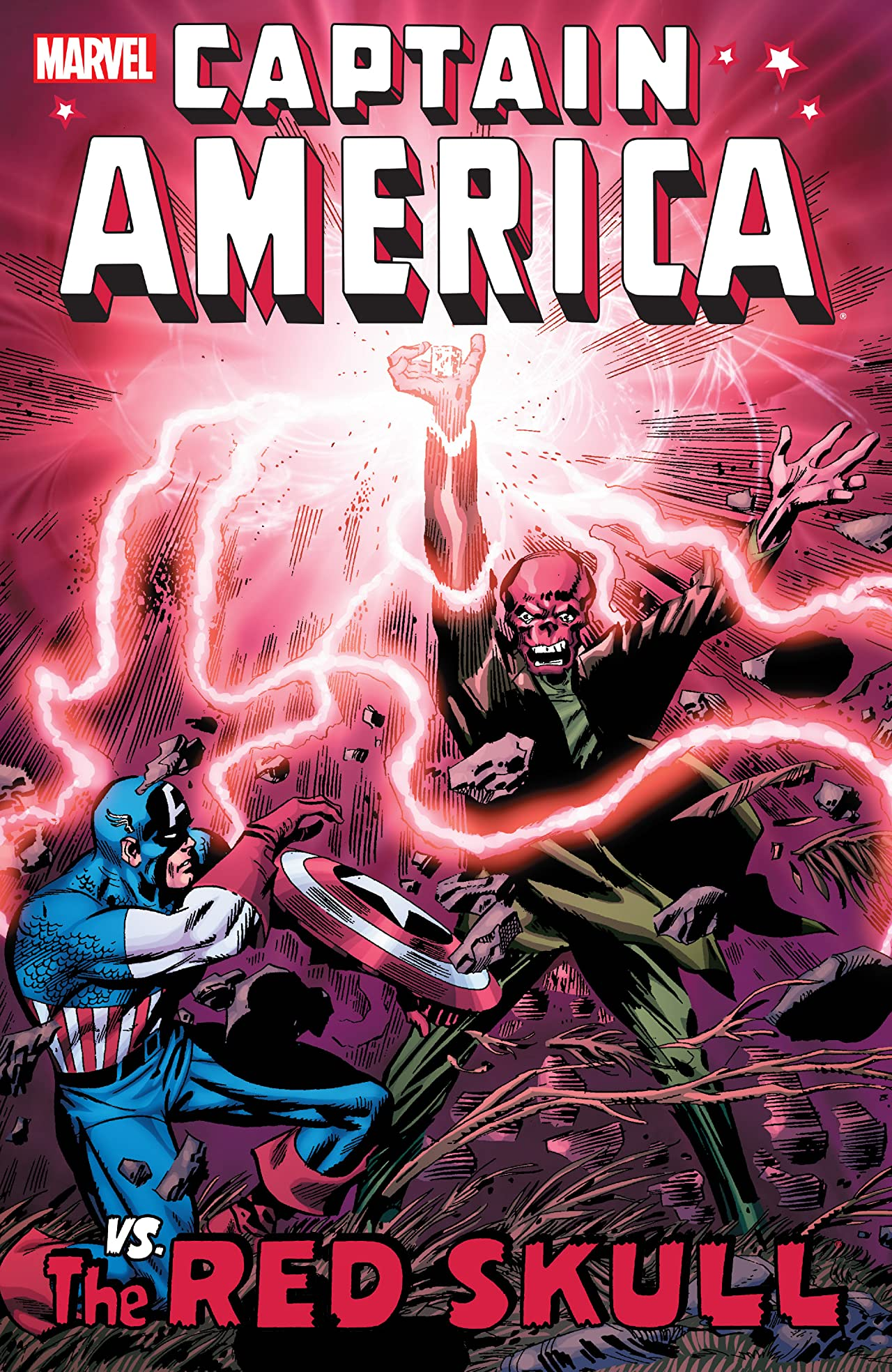 Captain America vs. The Red Skull