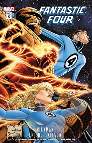 Fantastic Four By Jonathan Hickman Tome 5