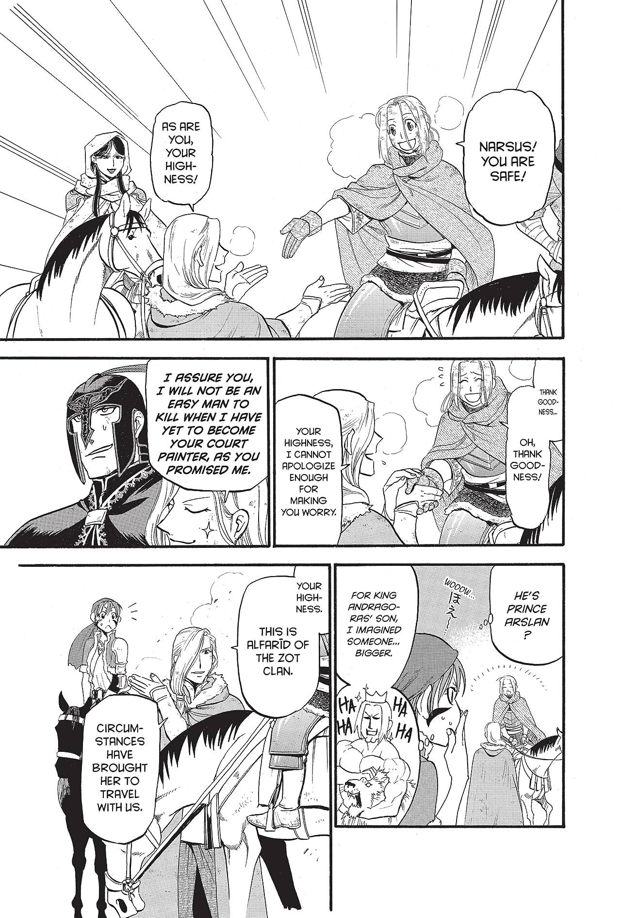 The Heroic Legend of Arslan #37