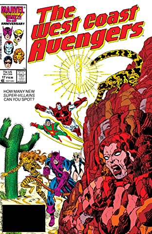 Avengers West Coast (1985-1994) No.17