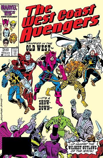 Avengers West Coast (1985-1994) #18