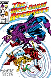 Avengers West Coast (1985-1994) #19