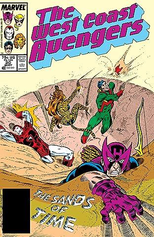 Avengers West Coast (1985-1994) #20