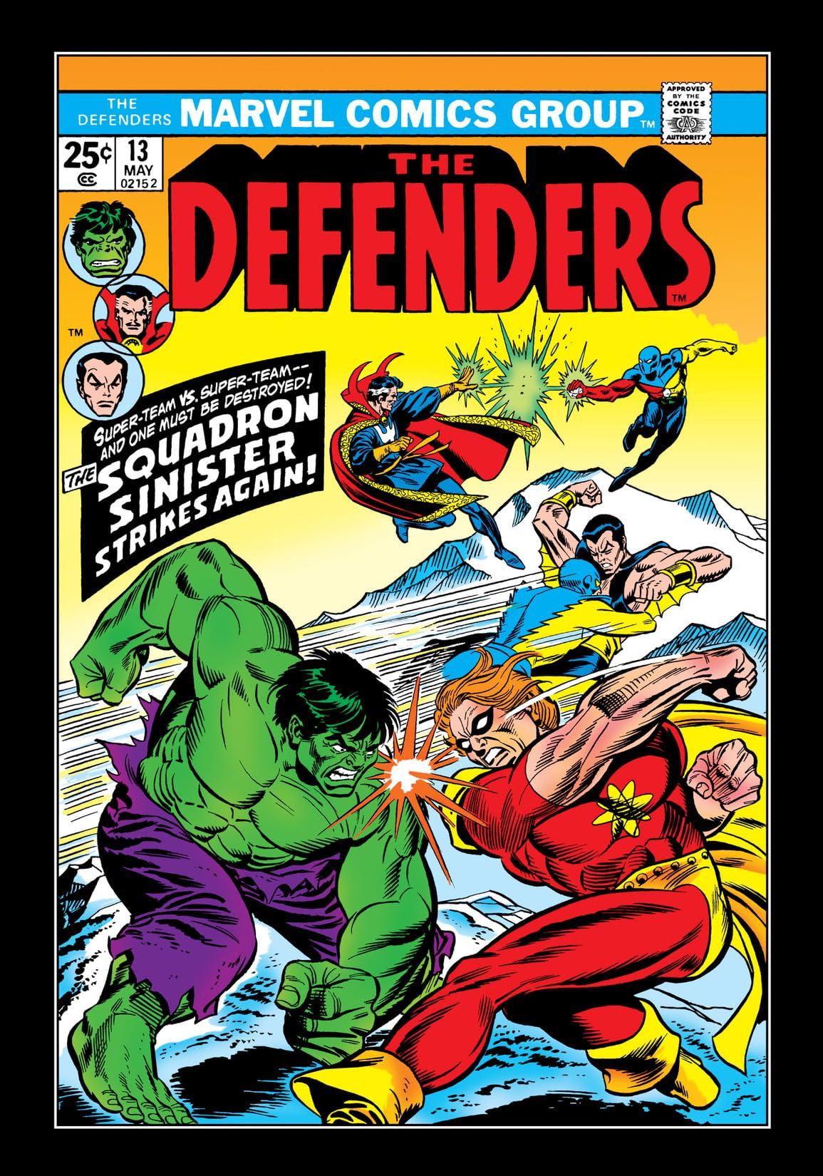 Defenders (1972-1986) #13