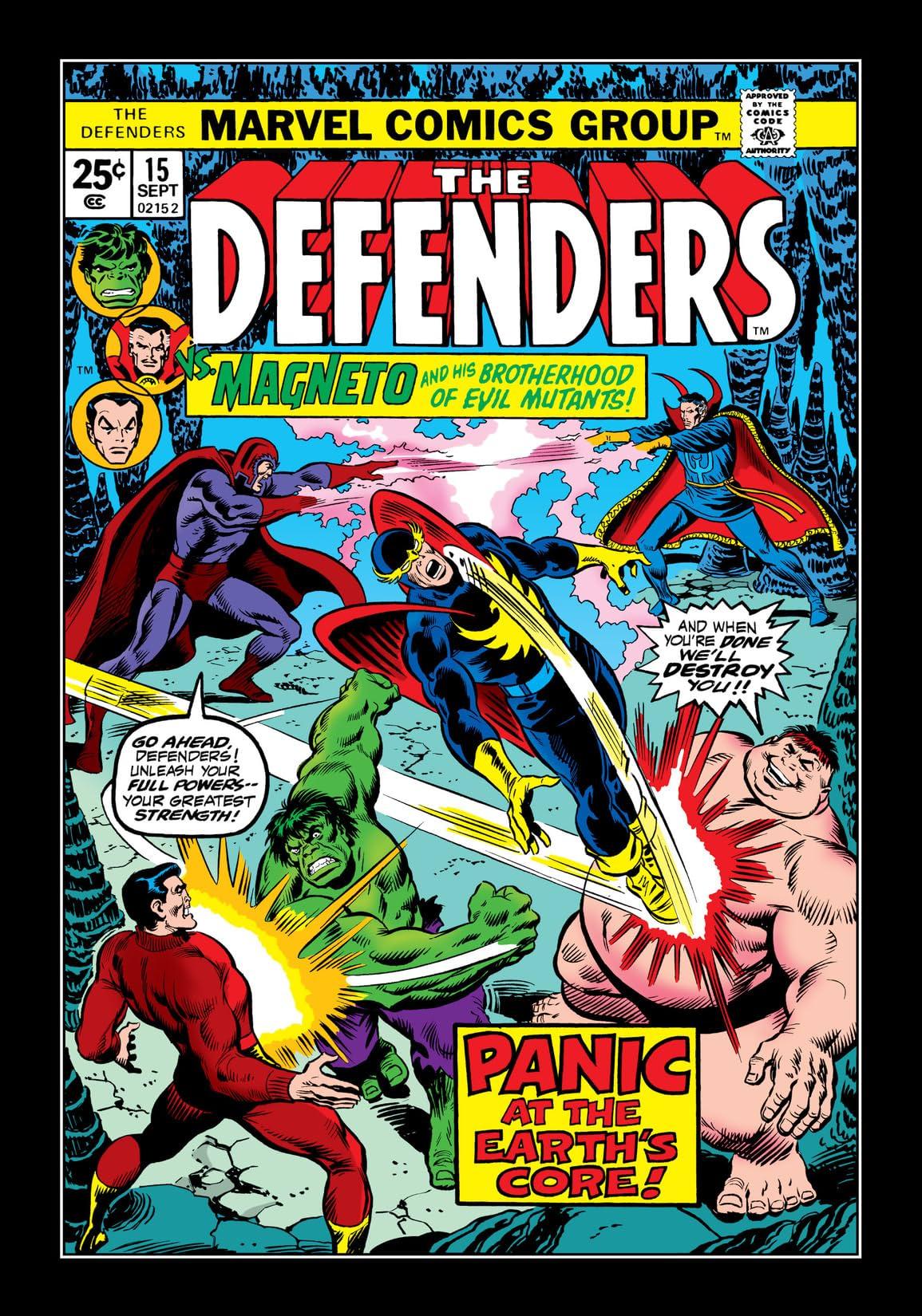 Defenders (1972-1986) #15