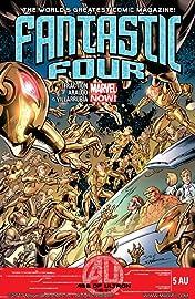 Fantastic Four (2012-2014) #5AU