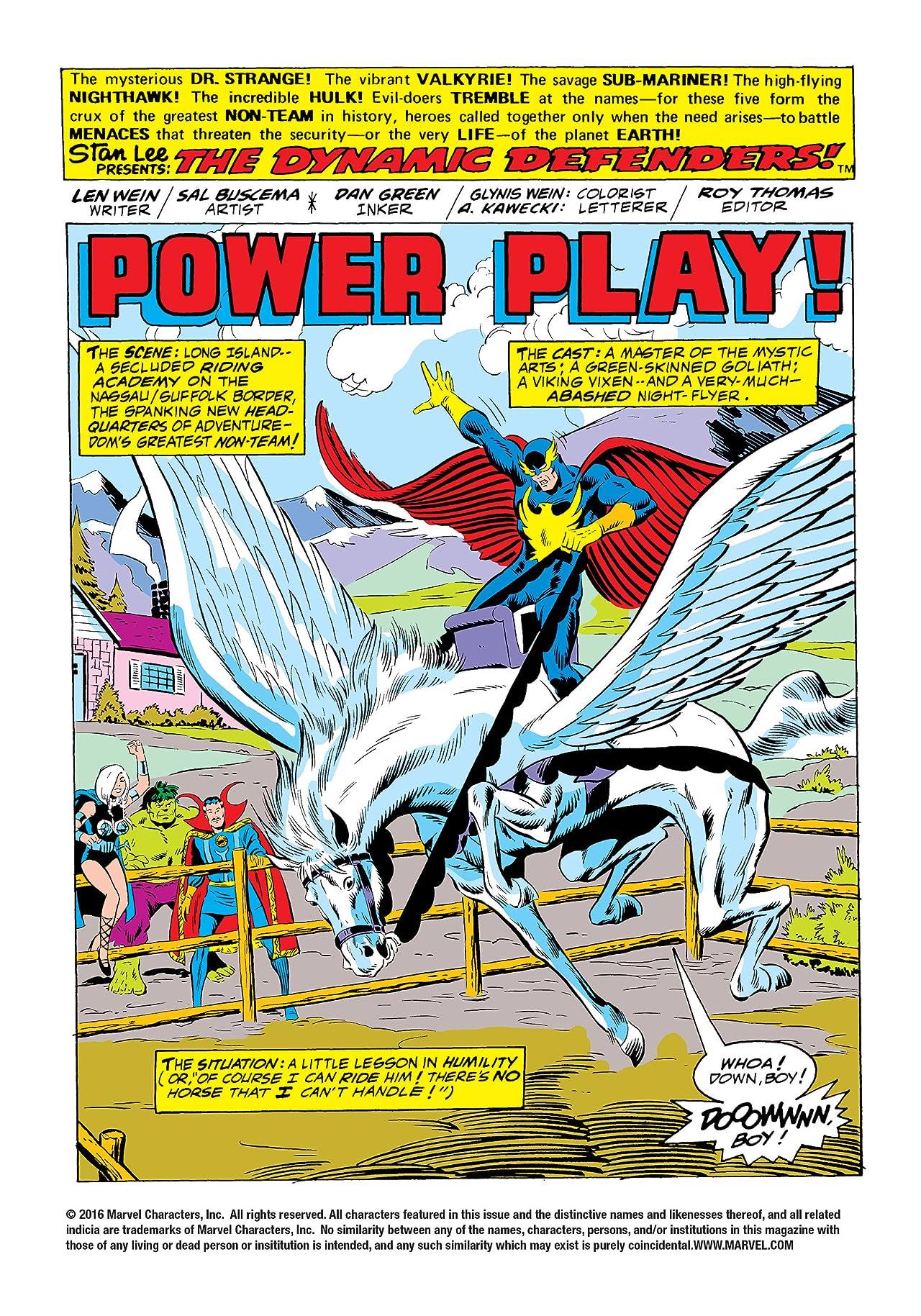 Defenders (1972-1986) #17