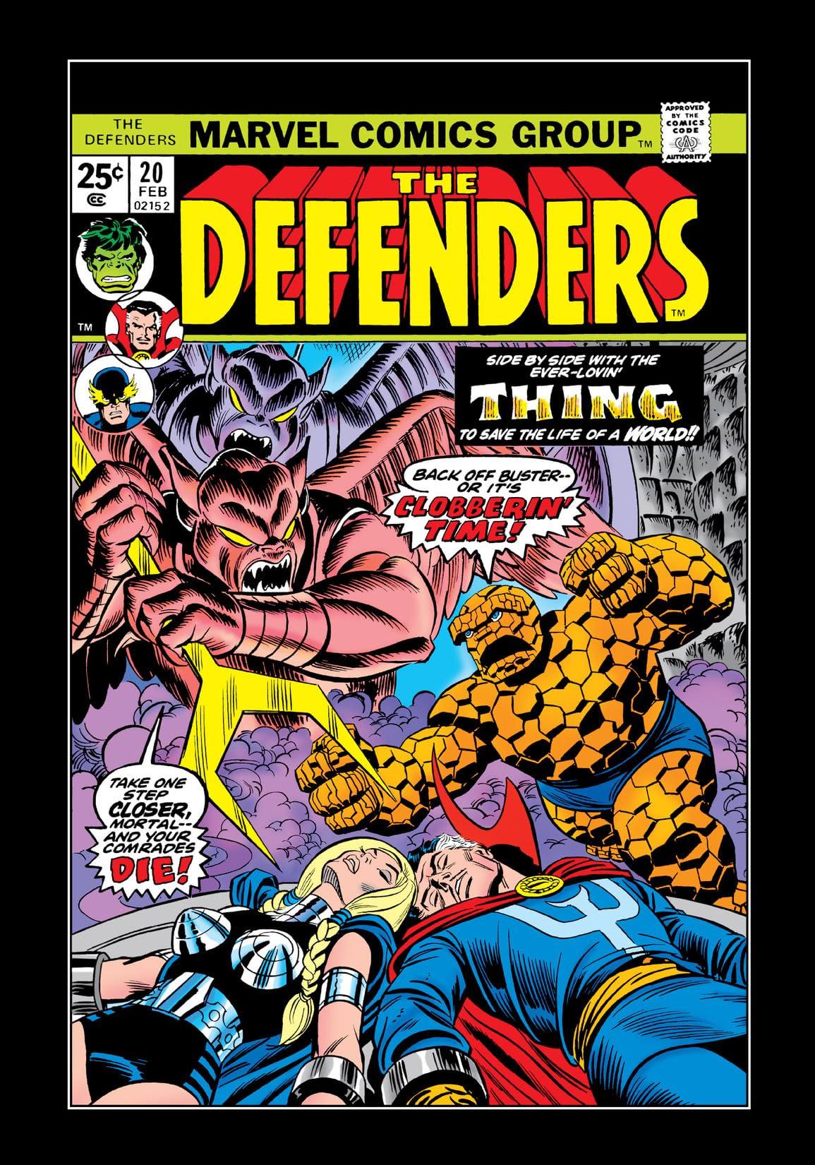Defenders (1972-1986) #20