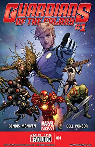 Guardians of the Galaxy (2013-2015) No.1