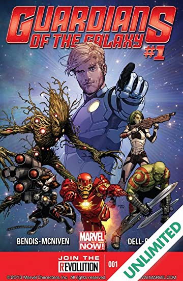 Guardians of the Galaxy (2013-2015) #1