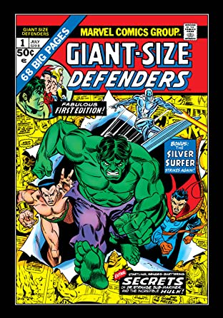 Giant-Size Defenders (1974-1975) No.1