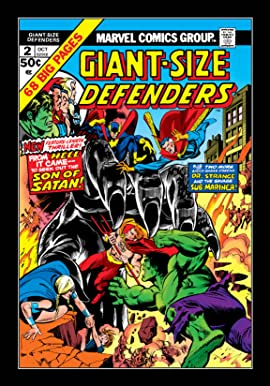 Giant-Size Defenders (1974-1975) #2