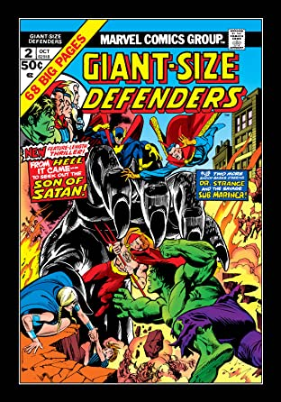 Giant-Size Defenders (1974-1975) No.2
