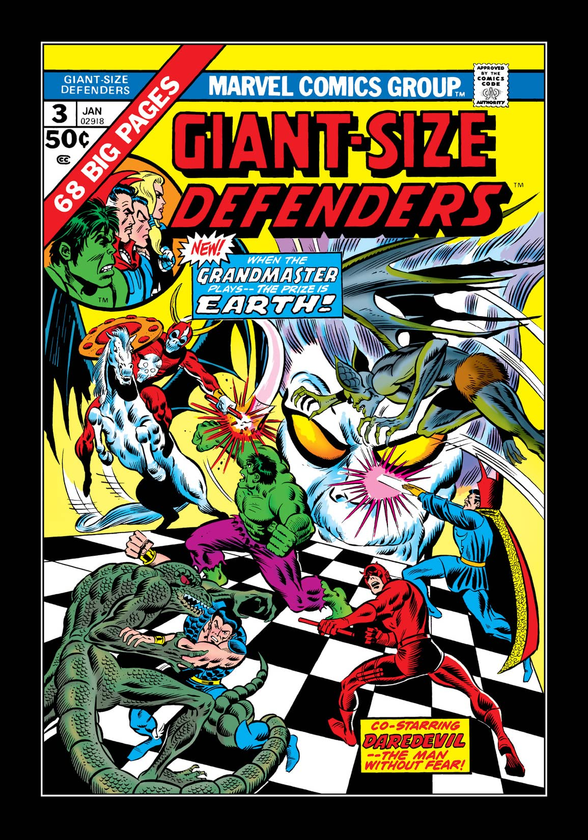 Giant-Size Defenders (1974-1975) #3