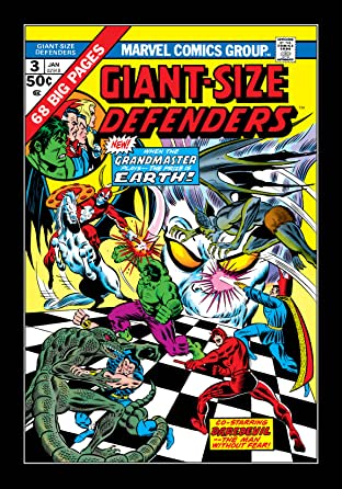 Giant-Size Defenders (1974-1975) No.3