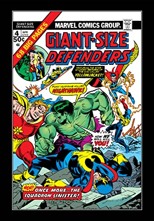 Giant-Size Defenders (1974-1975) No.4