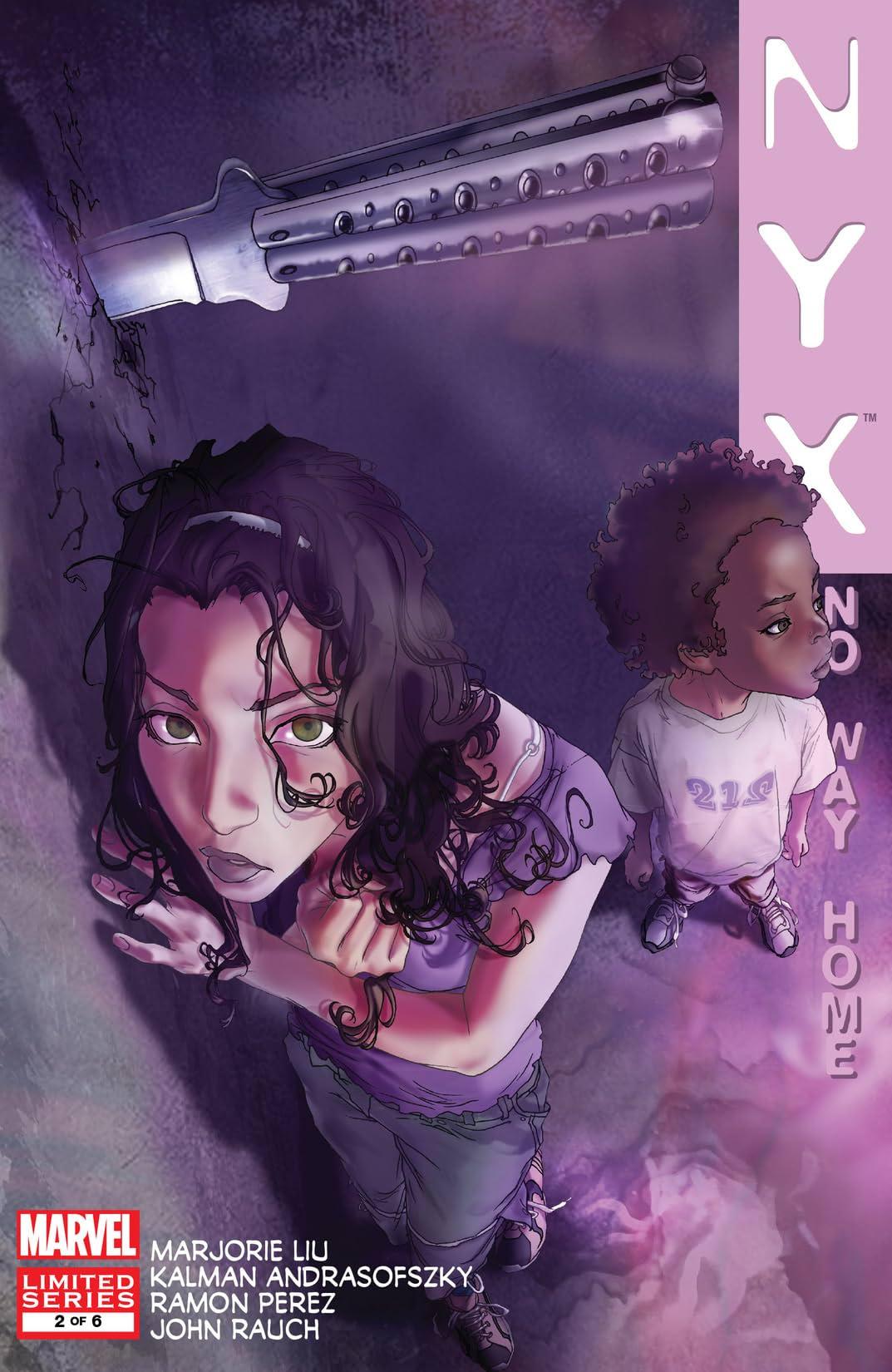 NYX: No Way Home (2008-2009) #2 (of 6)