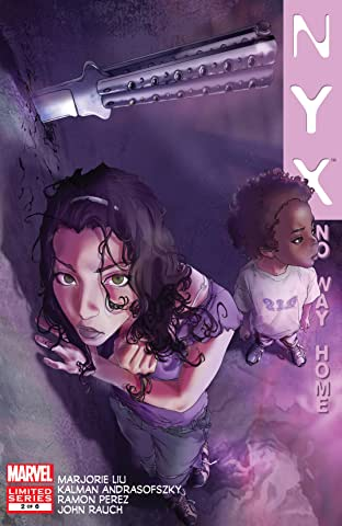 NYX: No Way Home (2008-2009) #2 (of 6)