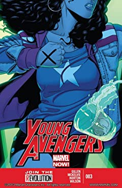 Young Avengers (2013) No.3