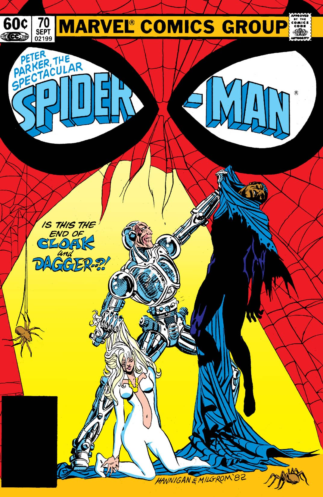 Peter Parker, The Spectacular Spider-Man (1976-1998) #70