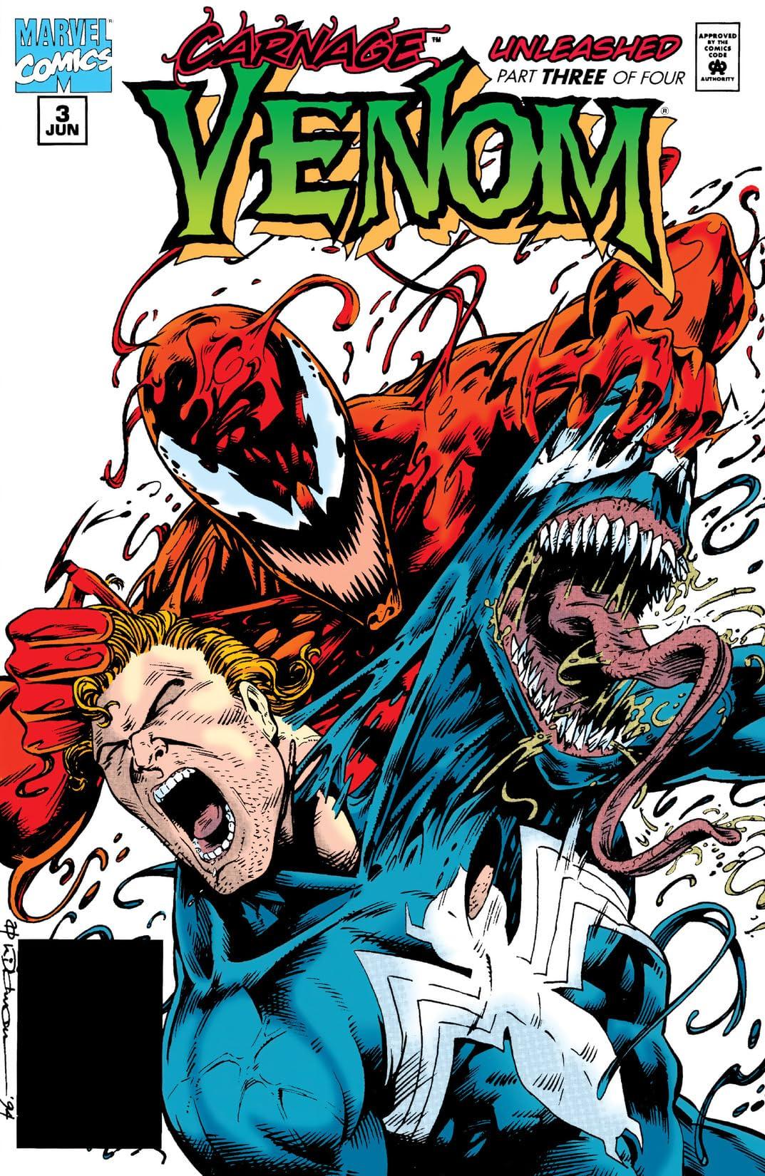 Venom: Carnage Unleashed (1995) #3 (of 4)