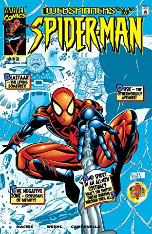 Webspinners: Tales of Spider-Man (1999-2000) No.13