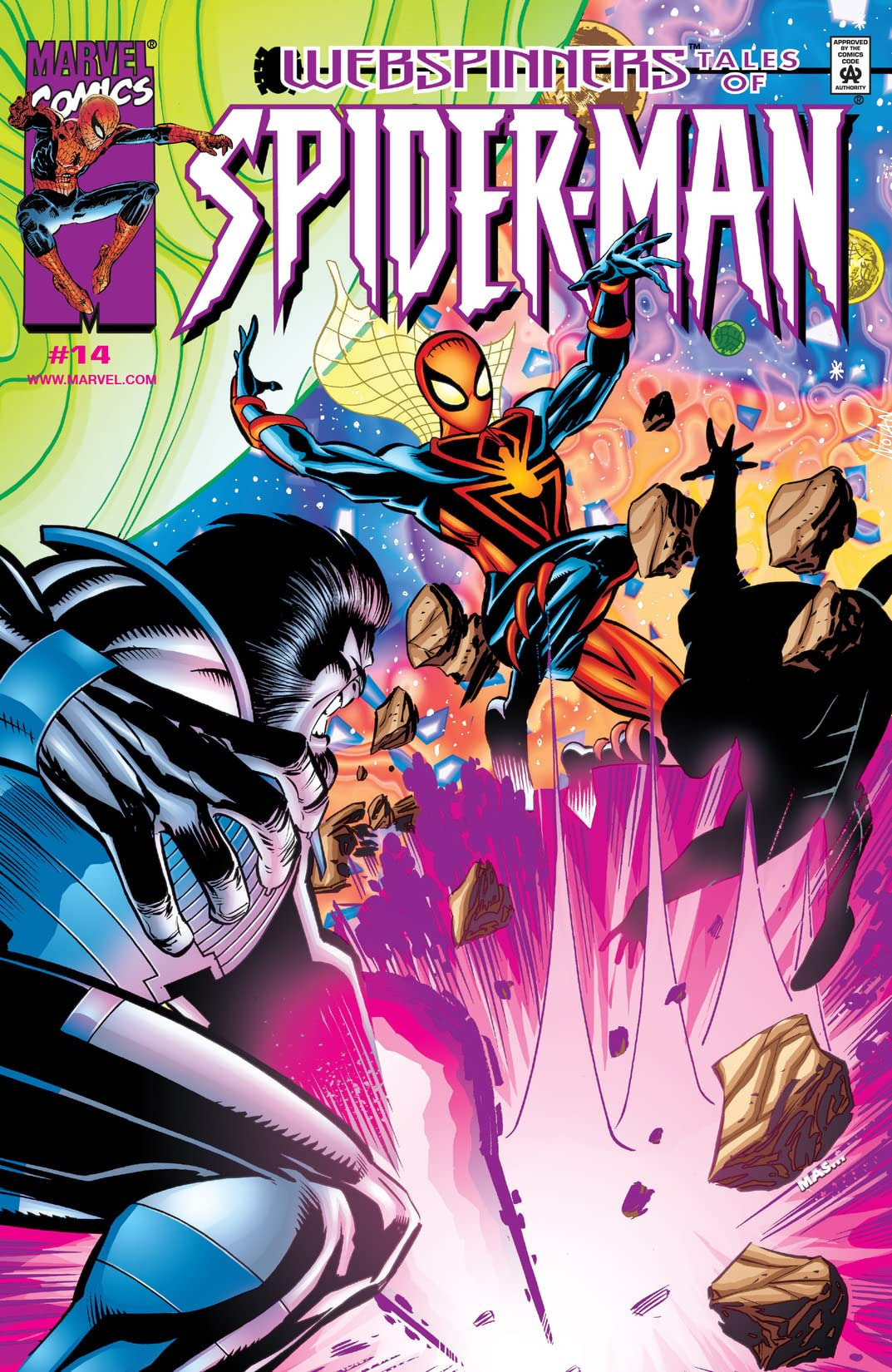 Webspinners: Tales of Spider-Man (1999-2000) #14