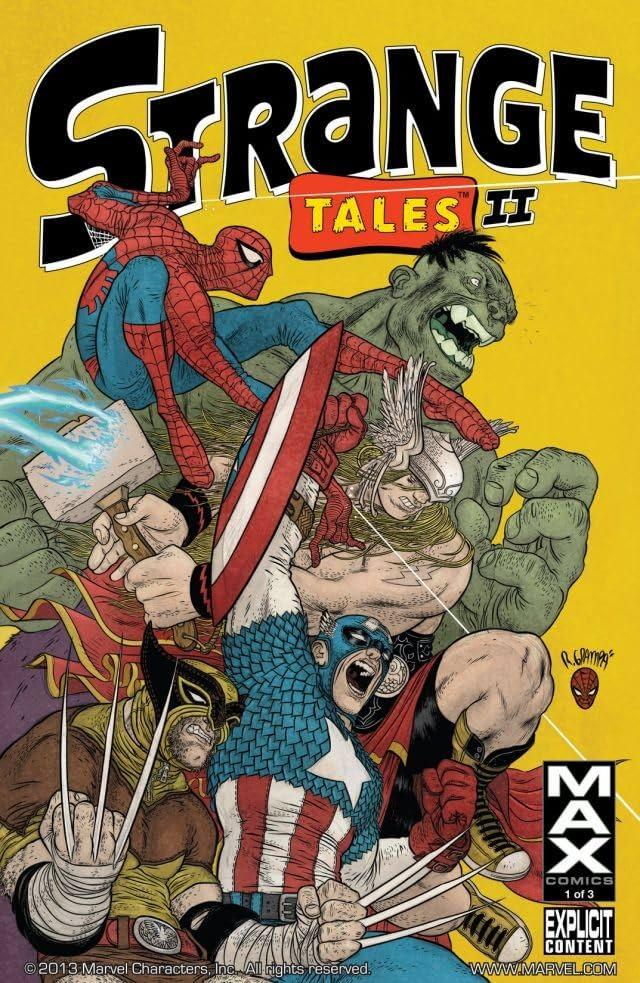 Strange Tales Vol. 2 #1