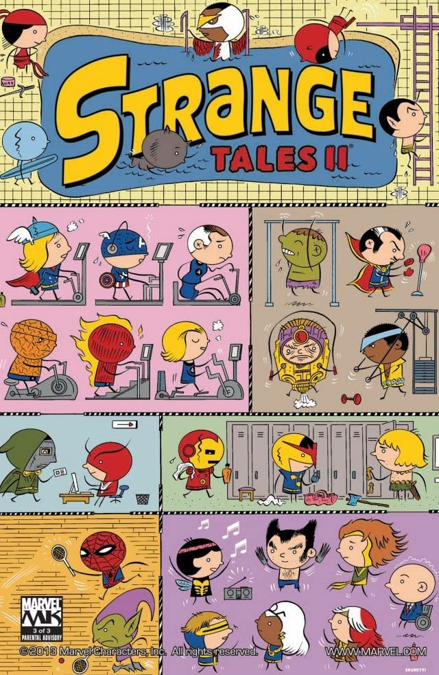 Strange Tales Vol. 2 #3