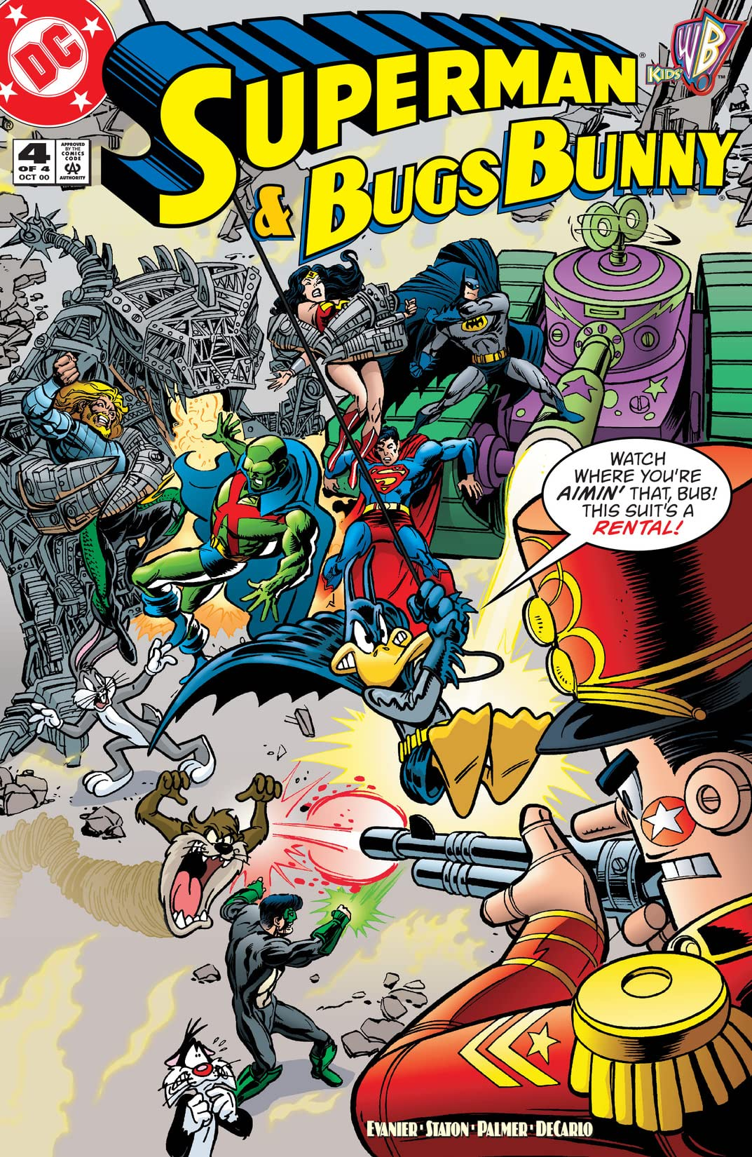 Superman & Bugs Bunny (2000) #4