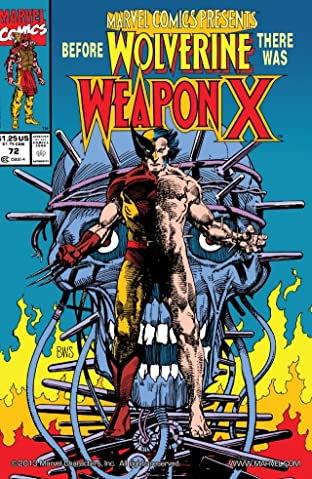 Marvel Comics Presents (1988-1995) #72