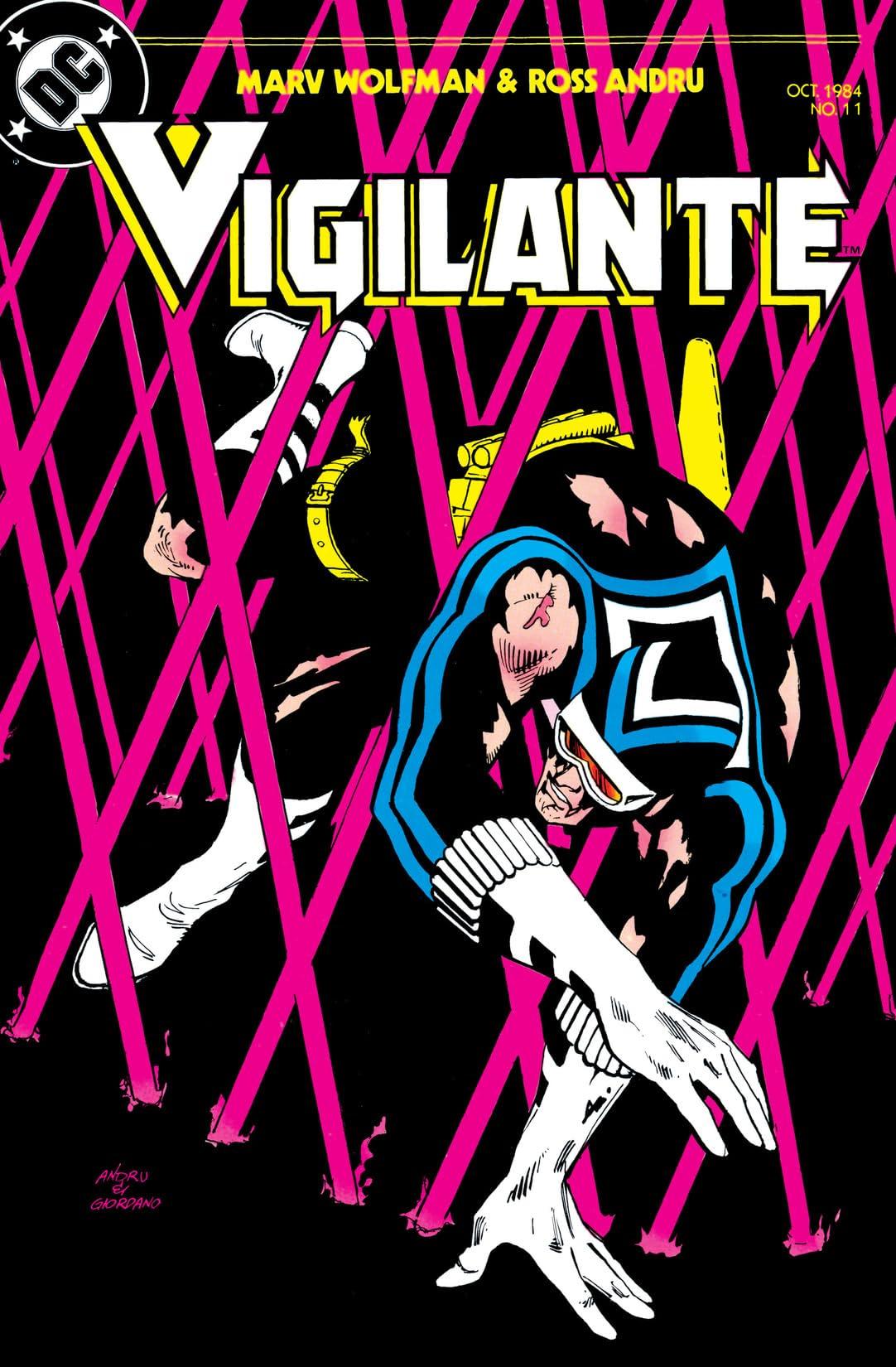 Vigilante (1983-1988) #11